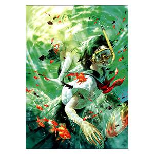 Midori Foo Art. Размер: 50 х 70 см